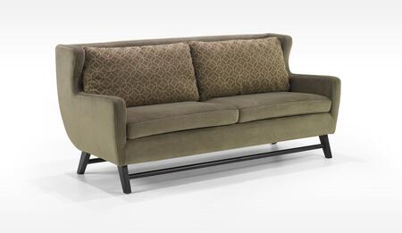 Armen Living LC10383GR Midtown Series  Sofa