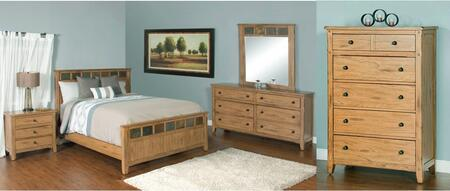 Sunny Designs 2334ROKBDM2NC Sedona King Bedroom Sets