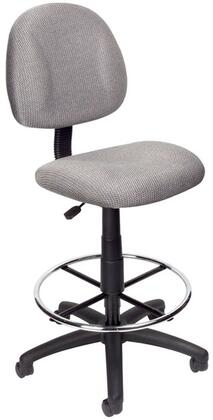 "Boss B1615GY 17.5"" Adjustable Contemporary Office Chair"