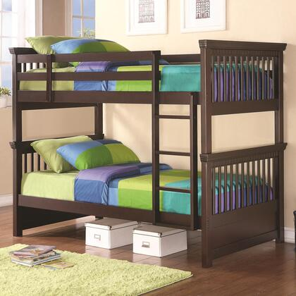 Coaster 460266 Oliver Series  Twin Size Bunk Bed