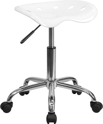 """Flash Furniture LF214AWHITEGG 17"""" Contemporary Office Chair"""