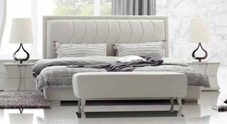 VIG Furniture CHARMINGBEDK  King Size Platform Bed