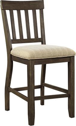 Signature Design by Ashley D485124 Dresbar Series Residential Fabric Upholstered Bar Stool