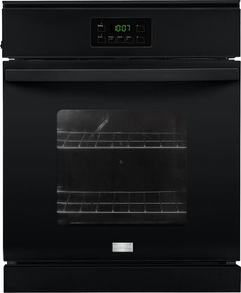 """Frigidaire FFEW2415Q 24"""" Single Electric Wall Oven with 3.3 cu. ft. Capacity, Vari-Broil Temperature Control, Dual Radiant Baking and Roasting and Ready-Select Controls in"""