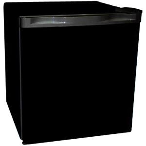 Haier HNSB02BB  Compact Refrigerator with 1.7 cu. ft. Capacity in Black