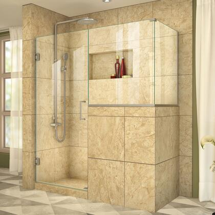 DreamLine UnidoorPlus Shower Door 39 30D 30BP 30RP 04