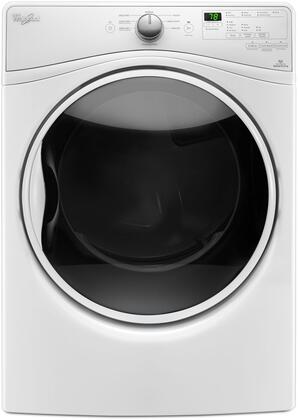 WED85HEFW whirlpool wed85hefw 27 inch 7 4 cu ft electric dryer, in white  at n-0.co