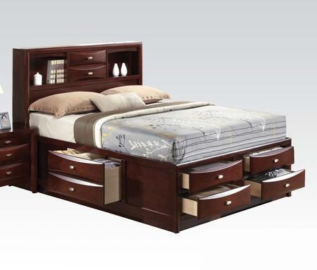 Acme Furniture 21596EK Ireland Series  King Size Platform Bed