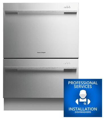 Fisher Paykel DD24DDFTX7INSTALL Built-In Dishwashers