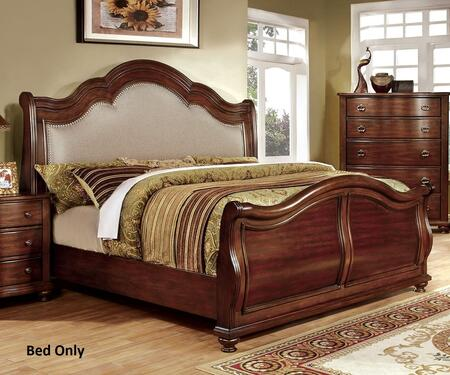 Furniture of America CM7350HCKBED Bellavista Series  California King Size Bed