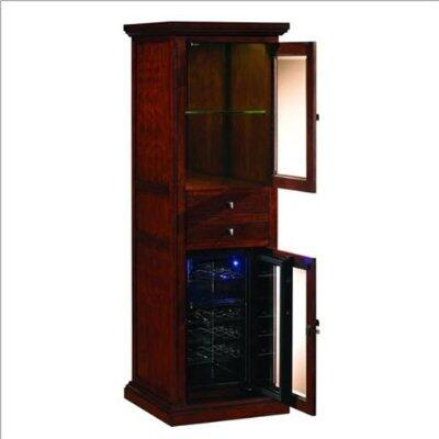 "Tresanti DC1093C2441823 23.00"" Wine Cooler, in Empire Cherry,Espresso,Premium Oak"