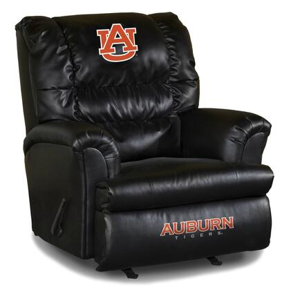Imperial International 79-30 Collegiate Themed Leather Big Daddy Recliner with Logos On Headrest and Footrest