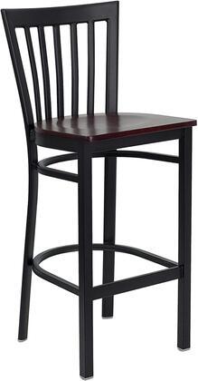 Flash Furniture XUDG6R8BSCHBARMAHWGG Hercules Series Not Upholstered Bar Stool