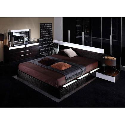 VIG Furniture VGWCGAMMA2CK  California King Size Platform Bed