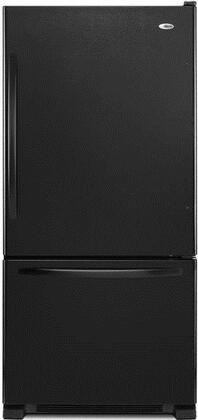 "Amana ABB2224BRB 33""  Bottom Freezer Refrigerator with 22.1 cu. ft. Capacity in Black"