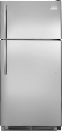 Frigidaire FPUI1888PF Professional Series Freestanding Top Freezer Refrigerator with 18.3 cu. ft. Total Capacity 4 Glass Shelves 4.1 cu. ft. Freezer Capacity  Appliances Connection