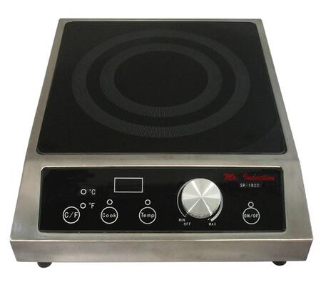 Sunpentown SR343C  Yes Cooktop, in Stainless Steel