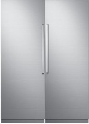 Dacor 742759 Modernist Side-By-Side Refrigerators