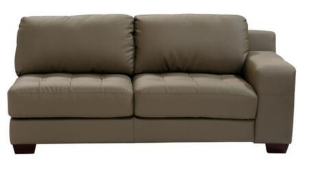 Diamond Sofa laredorfsofamb LAREDO Series  Sofa with Bonded Leather Frame in Mink Brown |Appliances Conncetion