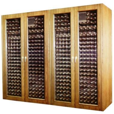 """Vinotemp VINO1400GEO 102"""" Wine Cooler"""