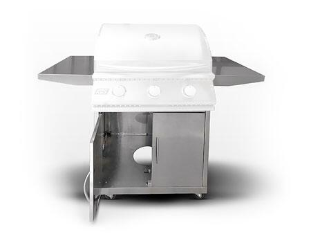 RCS RJC Stainless Steel Cart for Premier Grills