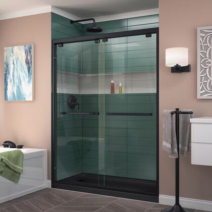 Encore Shower Door RS50 09 88B LeftDrain