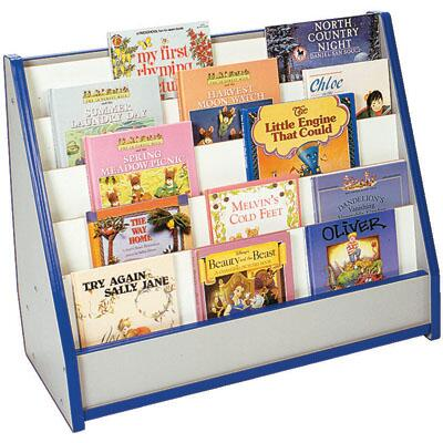 Mahar N50025RD Childrens  Wood Magazine Rack