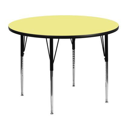 Flash Furniture XUA48RNDYELTAGG