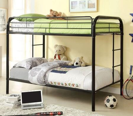 Furniture of America CMBK1032BK Rainbow Series  Twin Size Bed