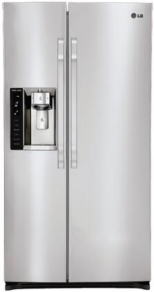 LG Studio LSSC243ST Freestanding Side by Side Refrigerator