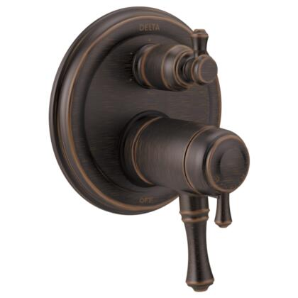Cassidy T27T997-RB Delta Cassidy: Traditional TempAssure 17T Series Valve Trim with 6-Setting Integrated Diverter in Venetian Bronze