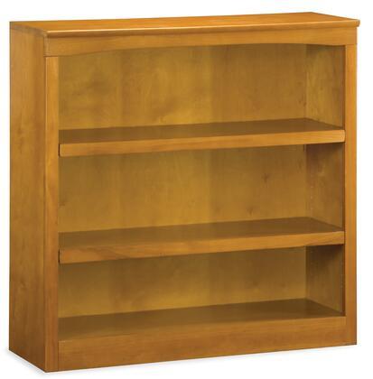 Atlantic Furniture BS36CL  3 Shelves Bookcase