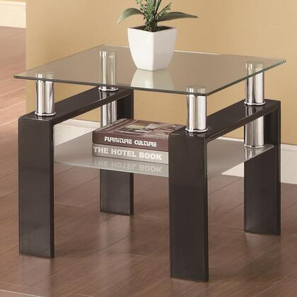 Coaster 702287 Occasional Group 702280 Series Contemporary Square 0 Drawers End Table