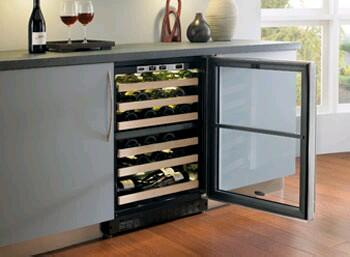 "Marvel 6SDZEBDL 23.875"" Built In Wine Cooler, in Panel Ready"