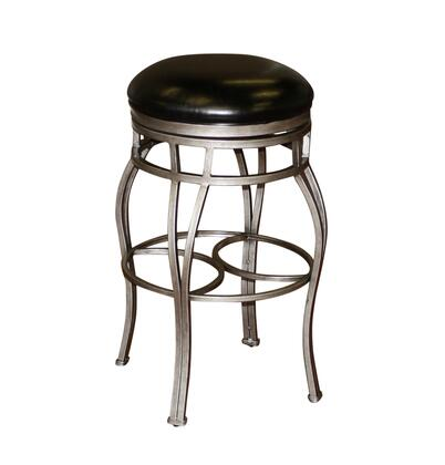 American Heritage 130715CBL50 Bella Series Residential Leather Upholstered Bar Stool
