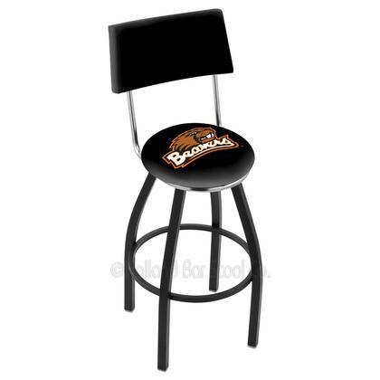 Holland Bar Stool L8B430OREGST Residential Vinyl Upholstered Bar Stool