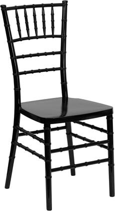 "Flash Furniture LE-L-7XX-RESIN-GG 18"" Flash Elegance Resin Stacking Chiavari Chair with 1000 Lb. Weight Capacity, One Piece Frame Design, Wobble-Free Contruction, and Ships Fully Assembled"