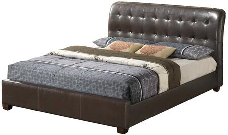 Glory Furniture G2595KBUP G2595 Series  King Size Sleigh Bed