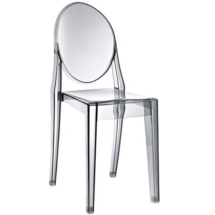 Modway EEI122SMK Casper Series Modern Not Upholstered Polyblend Frame Dining Room Chair