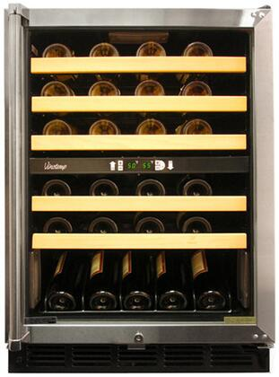 "Vinotemp VT45SB 23.75"" Freestanding Wine Cooler 