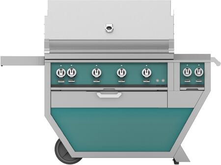 60 in. Deluxe Grill with Side Burner   Bora Bora