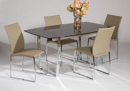 Chintaly MARCYDTBRWSET Marcy Dining Room Sets