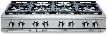 """Capital GRT488L 48"""" PRECISION Series Gas Sealed Burner Style Cooktop"""