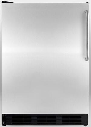 "Summit AL752BSSTBLHD 24"" Compact Refrigerator with 5.5 cu. ft. Capacity in Stainless Steel"