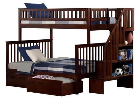 Atlantic Furniture AB56714  Twin over Full Size Bunk Bed