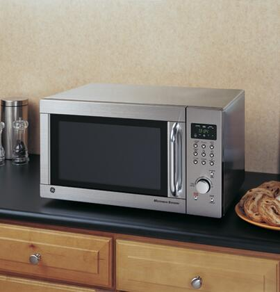 Ge Jes1384sf Countertop Microwave In Stainless Steel