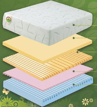 Boyd IMPS812TW Natural Lux 8100 Series Twin Size Mattress