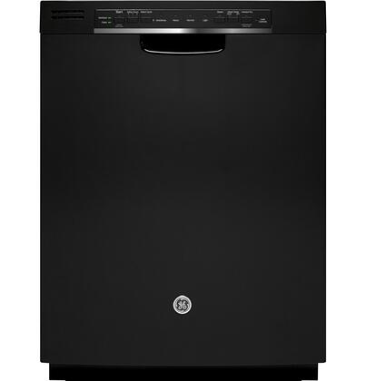 GE GDF570S Energy Star Rated Built-In Dishwasher with 16-Place Settings, 4 Wash Cycles, 7 Options, Hard Food Disposer, Removable Filter, Adjustable Upper Rack and Steam PreWash in