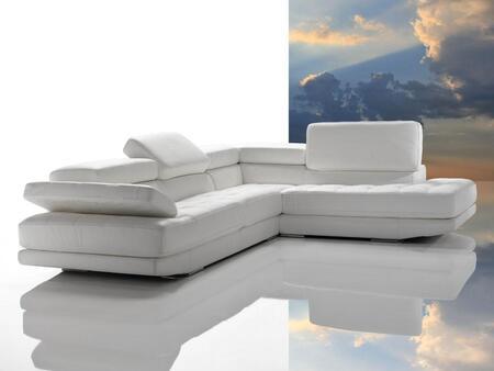VIG Furniture VGDIPRINCIPE Dima Principe Series Stationary Leather Sofa