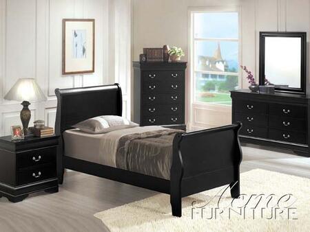 Acme Furniture 00417AF  Full Size Sleigh Bed